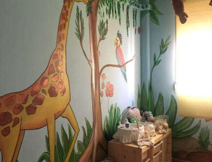 Pintura habitación Infantil - Animales