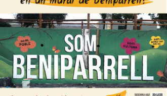 Concurso PIntura Mural Beniparrell - Almacén de Luciérnagas